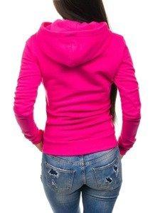 Bolf Damen Kapuzenpullover Rosa 15S