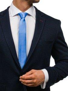 Bolf Herren Krawatte Hellblau K001