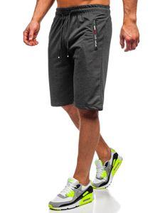 Bolf Herren Shorts Badehose Schwarz  JX369
